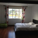 lovely big bedroom - pic doesn't do this justice
