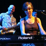 Gator Blues Gal, Marcia Ball tickles the ivories at the Aladin