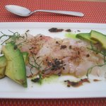 Halibut Carpaccio