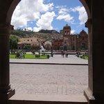 Vista que se tem do hotel (Praça de Armas)
