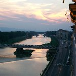 Arno River from St. Regis Balcony