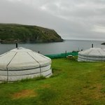 Yurts at Chleire Haven