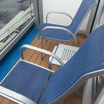 Spa Deck Cabin Balcony