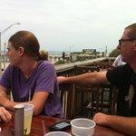 Finn's is close to the Flagler Beach Pier.