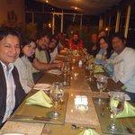 Encuentro de amigos en el Restaurante del Hotel Stubel