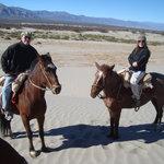 estancia chimpa.Por las dunas de la estancia a caballos peruanos