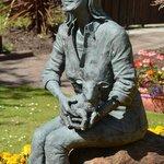 Linda McCartney statue