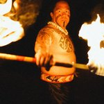 Drums of the Pacific Luau Samoan Fire-Knife Dance