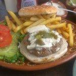 Scrummish Blue Burger