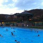 Evening swim at Hathersage Lido