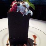 chocolate bag dessert..amazing!