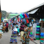 local market in virunga region--private tour with our driver
