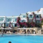 Royal Mykonian and pool