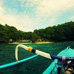 Le site de plongée de Blue Lagoon à Pandangbai