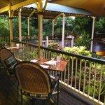 Veranda overlooking Garden Deck