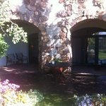 The outside entrance to our room
