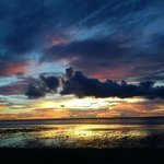 05.17.13 Sunset in SCL Paradise Resort, Bolinao the beauty of sunset differ in just a minute or