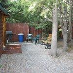 Yard of Cabin 6