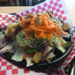 Beach Bites has various salad offerings including build your own