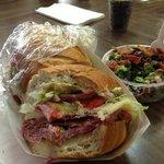 Navy sandwich