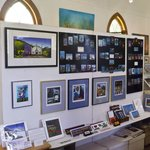 Some of Claire Kujundzic's framed work & art magnets