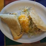 Stuffed sopapilla with chicken