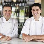Executive Chef Martin Glutz & Chef de Cuisine Daniel Watt
