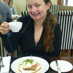 Breakfast - try the amazing eggs benedict