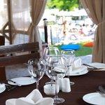 Garden Bar Pool and Restaurant in Dedeman Silk Road Tashkent