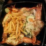 Abibiz signature Grilled prawns