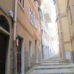 the pathway to casa capelini
