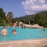 Camping's heated swimming pool