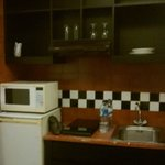 Kitchen at 1 bed room