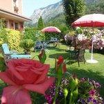 Jardin del Hotel Rural este mes de Julio 2013.