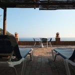 relax sul terrazzo della camera