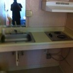 Nasty sink and cooker