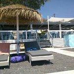 terrazzino sulla spiaggia