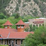 Glenwood Canyon Brewing Co.  - Across the street from train station.