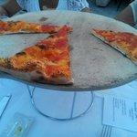 Antipasto pizza marinara!