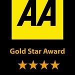 AA Four Star Gold Award 2013