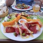 Salade fraicheur avec des produits locaux !