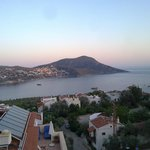 sight of the kalkan from top roof restaurant