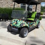 John Daly styled carts