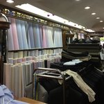 Very  neat store with wide selection of fabrics