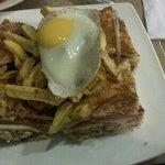club sandwich, S/. 20.40