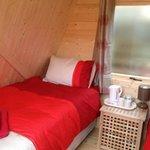 Camping Pod inside