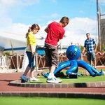 Adventure golf at Thorpe Park Holiday Centre
