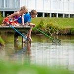 Fishing lajke at Thorpe Park Holiday Centre