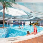 Indoor pool at Thorpe Park Holiday Centre
