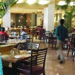 Breakfast time at Paprika, Courtyard by Marriott Chennai